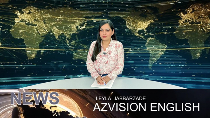 AzVision TV releases new edition of news in English for March 16 -  VIDEO