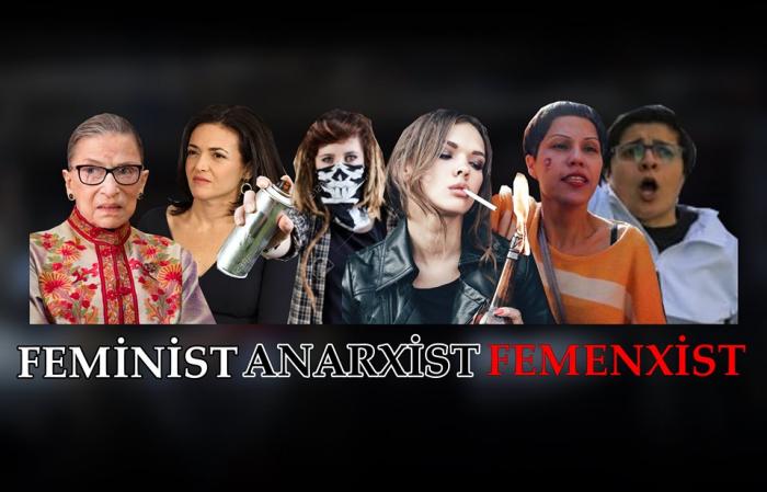 Feminist + Anarxist = Femenxist - VİDEOBLOQ