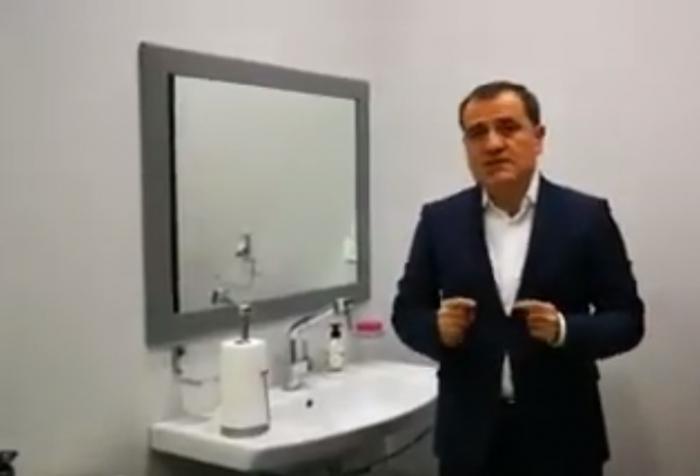 """Nazir """"Təmiz əllər"""" kampaniyasına qoşuldu - VİDEO"""