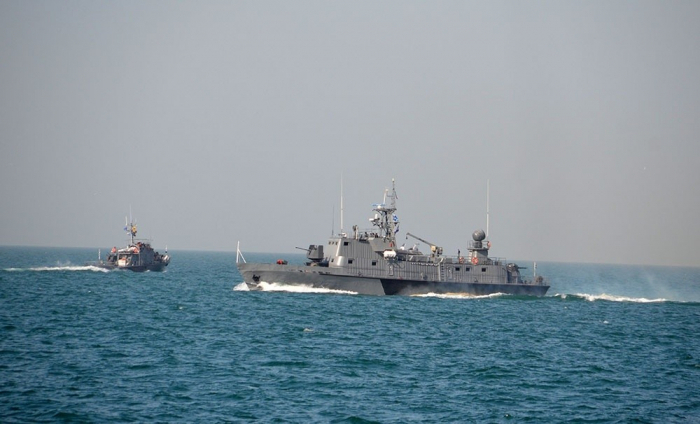التدريب التكتيكي في القوات البحرية -   فيديو