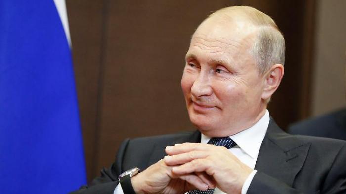 Richter billigen Putins Verfassungsreform
