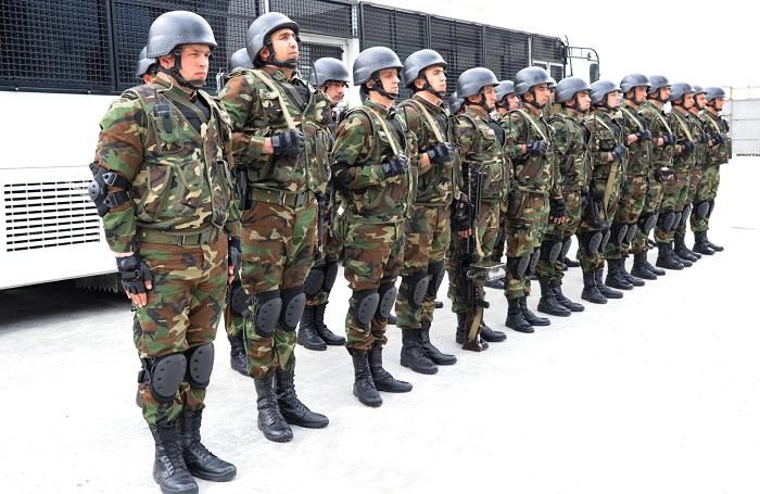 Internal Troops involved in strengthening special quarantine regime in Azerbaijan