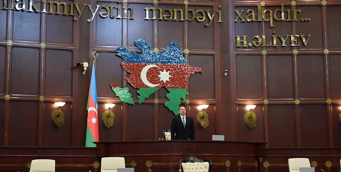 President Aliyev attends meeting ofAzerbaijan's 6th convocation parliament - UPDATED