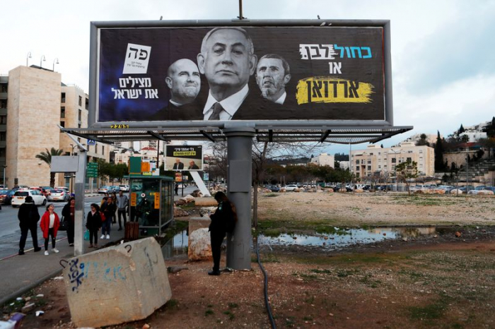 Mired in stalemate, Israel holds another election on Netanyahu