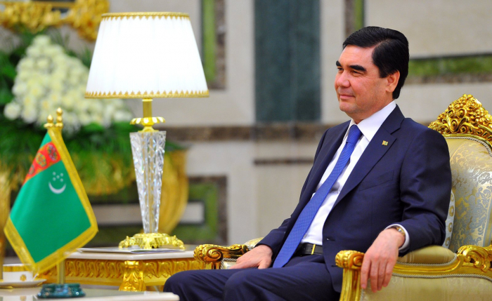 Turkmen president arrives in Azerbaijan for visit