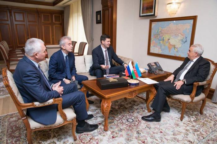 Volume of rail freight transportation between Azerbaijan, Russian increases