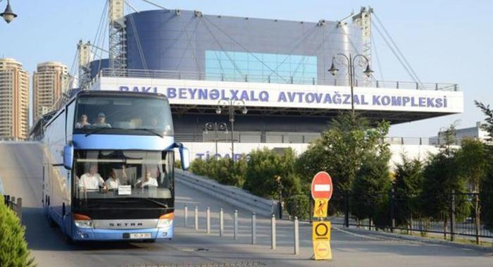 Şəhərlərarası avtobus reysləri -