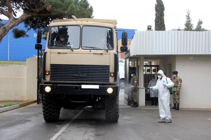 Orduda virusla bağlı qabaqlayıcı tədbirlər görülür - FOTOLAR+VİDEO
