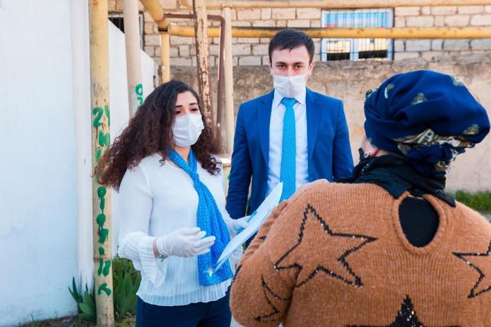 """""""ASAN Məktub"""" vasitəsilə tənha ahılların zəruri ehtiyacları qarşılanır - FOTOLAR"""