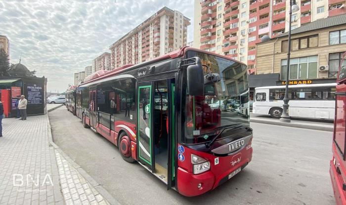 Xüsusi ekspress avtobuslar istifadəyə verilib