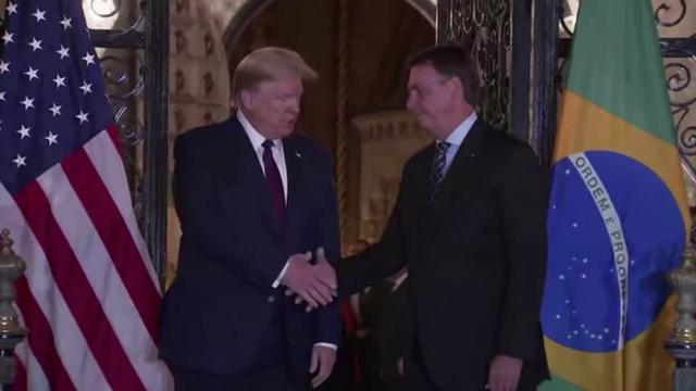 Brazil official, who met Trump, tests positive for coronavirus