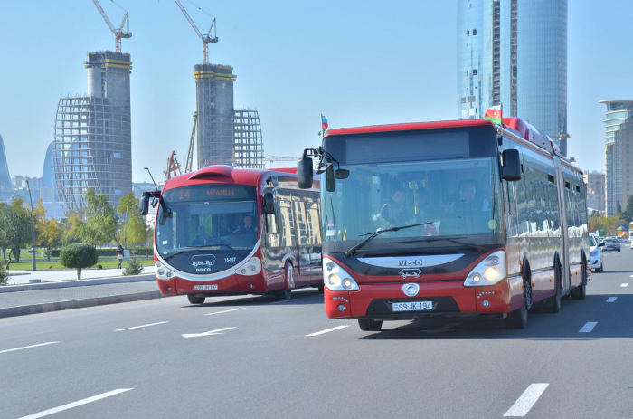 Regular bus services may be suspended in Azerbaijan's capital in case of non-compliance with quarantine