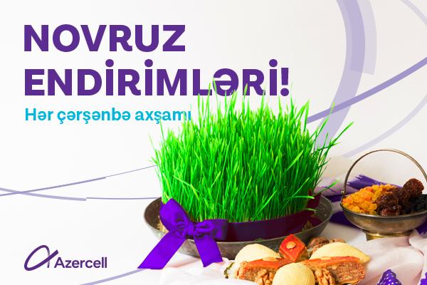 Azercell-dən Novruz hədiyyələri davam edir