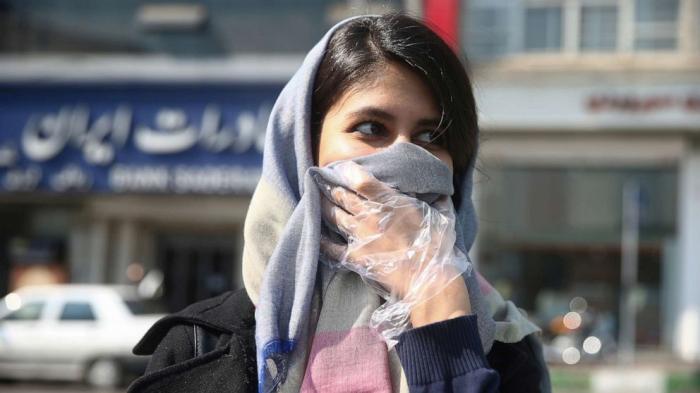 İranda koronavirusa yoluxanların sayı 24 mini ötüb