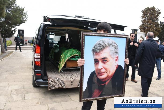 Xalq artisti Rafael Dadaşov dəfn olunub - FOTOLAR