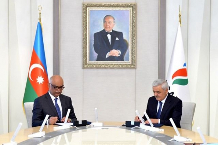 Azerbaijan's State Oil Company, Equinor sign co-op agreement