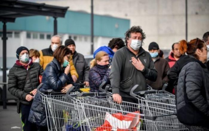 İspaniyada bir gündə 7 mindən çox insan virusa yoluxub