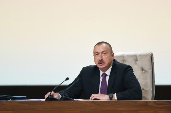 """""""Keçmiş icra başçısının biabırçı hərəkətləri xalqda nifrət hissi oyadır"""" - Prezident"""