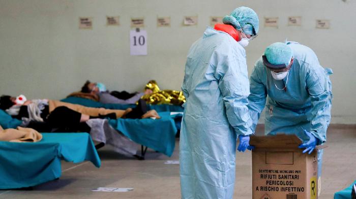 Italy hiring 10,000 student doctors as coronavirus death toll hits 2,503