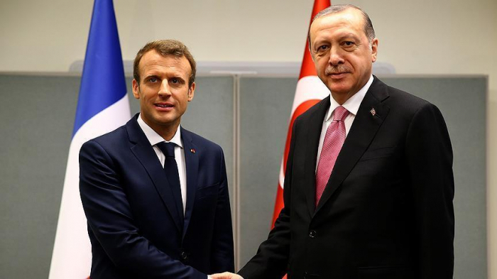Erdogan, Macron discuss Idlib, migrant issue on phone