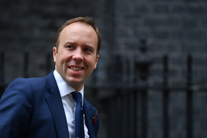 UK Health Secretary Matt Hancock tests positive for coronavirus