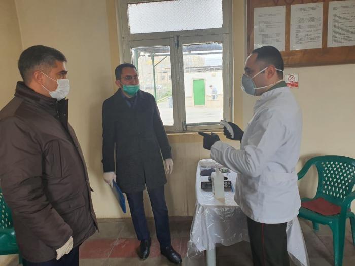 Azərbaycanda məhkumlar koronavirus yoxlanışından keçirilib