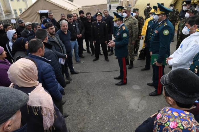 Leiter des Binnengrenzdienstes inspiziert die Situation an der Grenze zu Russland   - FOTOS