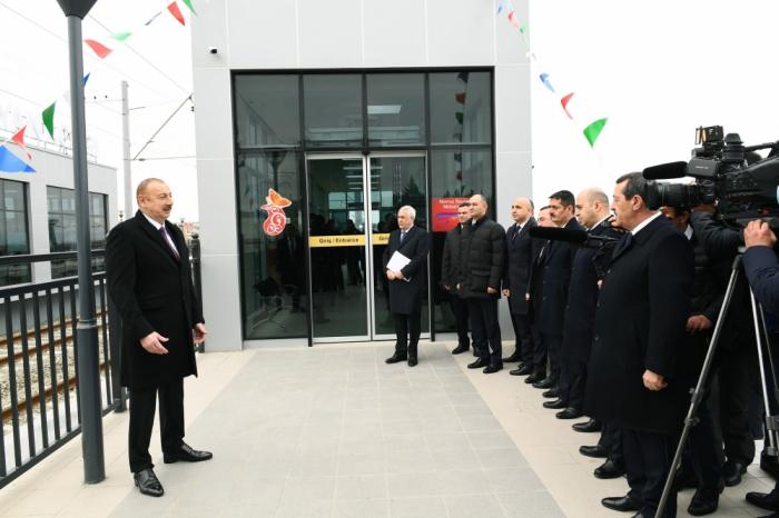 """""""Məqsədimiz insanlar üçün rahat şərait yaratmaqdır"""" - Prezident"""