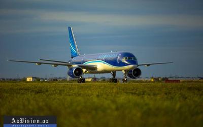 الرحلات الجوية سيتم تنفيذها فقط من باكو إلى موسكو ولندن