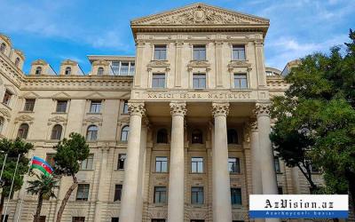 وزارة الخارجية الأذربيجانية تشكر للولايات المتحدة