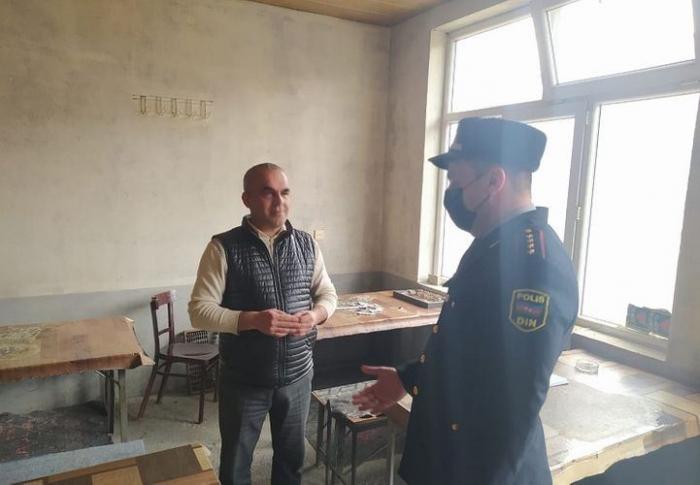 Şəkidə karantin rejimini pozan kafe aşkarlandı