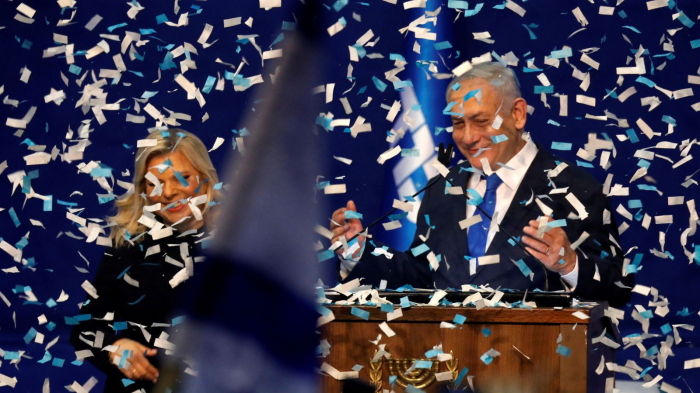 Benjamin Netanyahu claims victory in Israel