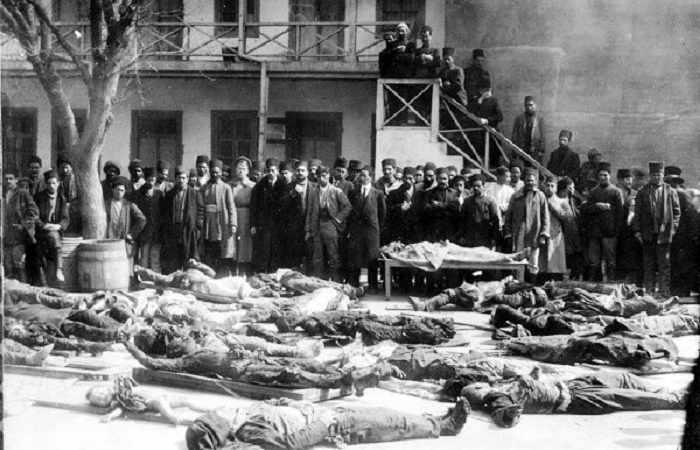 Azərbaycanlılara qarşı soyqırımdan 102 il ötür