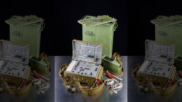Soviet spy radio discovered in Germany