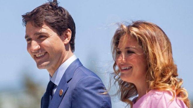 Kanada Baş Nazirinin xanımı koronavirusa yoluxub