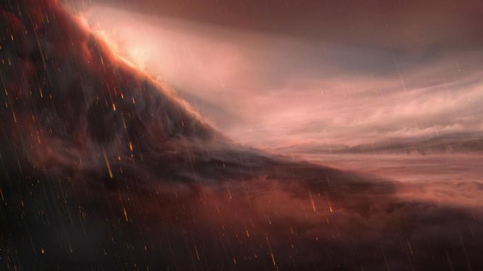 Des chercheurs ont découvert une planète où il pleut du fer
