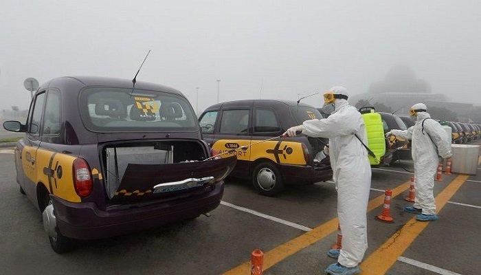 12 minə yaxın taksi dezinfeksiya olunub
