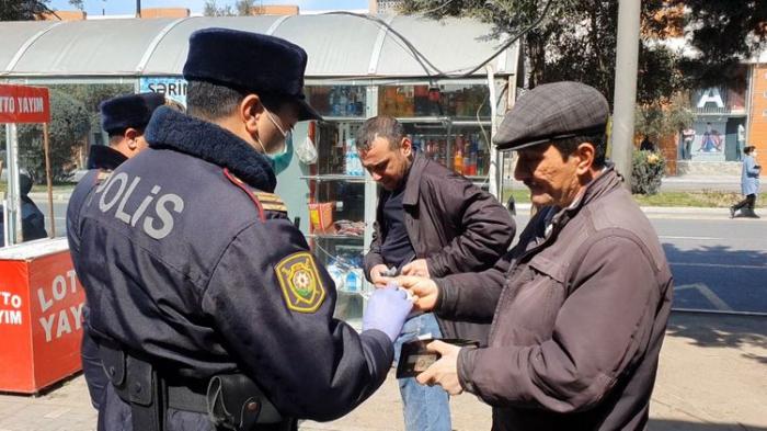 Sumqayıtda karantin rejimini pozan 92 nəfər cərimələndi