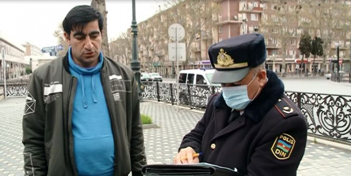 Gəncədə karantin rejimini pozanlara protokol tərtib edilib