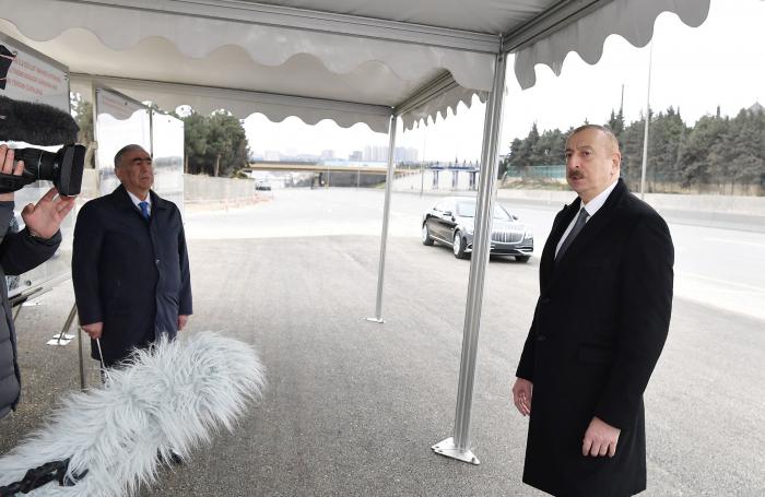 """""""Tıxacların azalması istiqamətində əlavə addımlar atılacaq"""" - Prezident"""