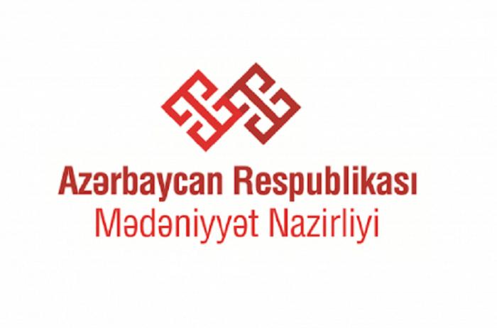 Mədəniyyət Nazirliyi karantin rejiminə uyğun işləyir