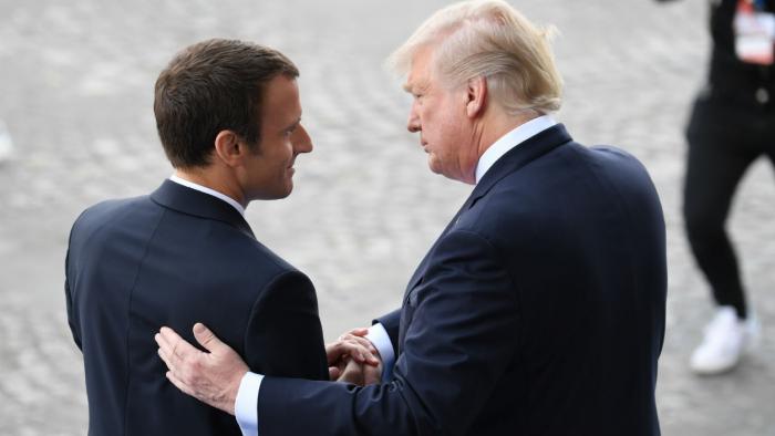 Coronavirus: Trump et Macron veulent un sommet exceptionnel du P5