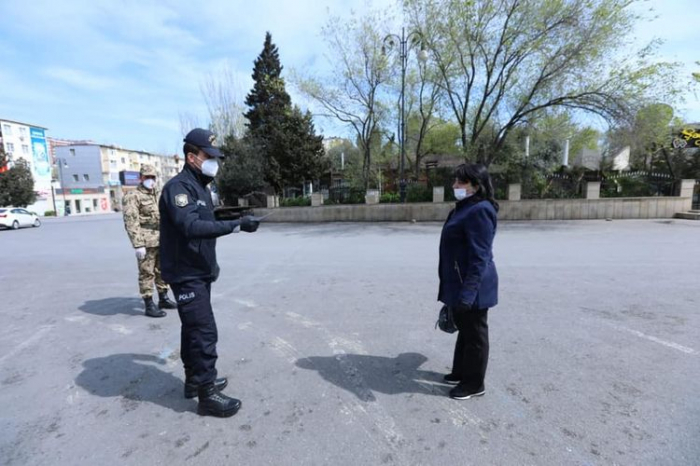Karantin rejimini pozanlara qarşı tədbirlər görülür - FOTOLAR
