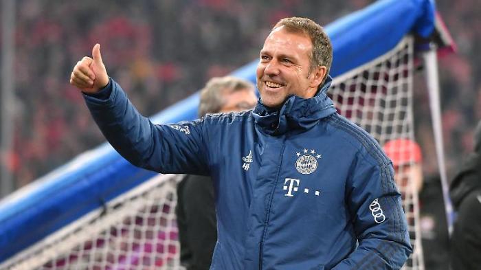 """Flick ist """"der ideale Trainer"""" für FC Bayern"""