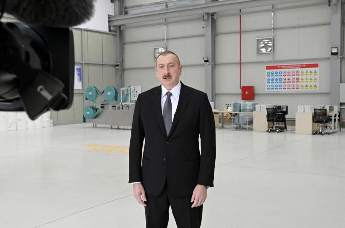 Président azerbaïdjanais : S