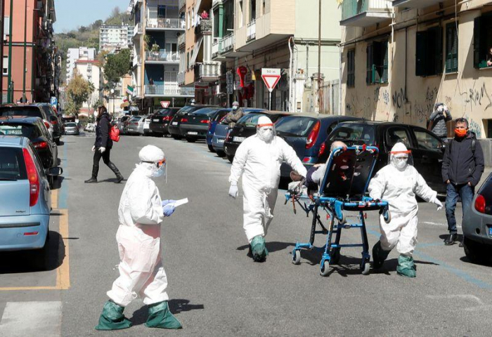 Dunkelziffer in Italien  - Viele Covid-19-Kranke sterben zu Hause
