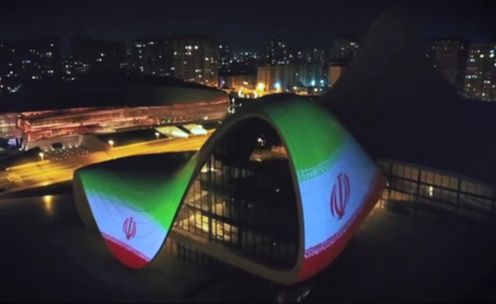 Heydar Aliyev Center expresses support to Iran amid COVID-19 outbreak -   VIDEO