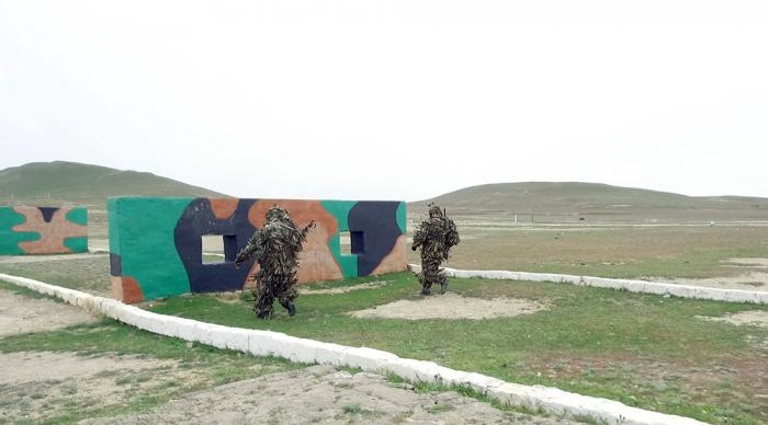 Azerbaijan MoD checks training of snipers -   VIDEO