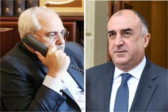 Azerbaijani, Iranian FMs hold phone conversation