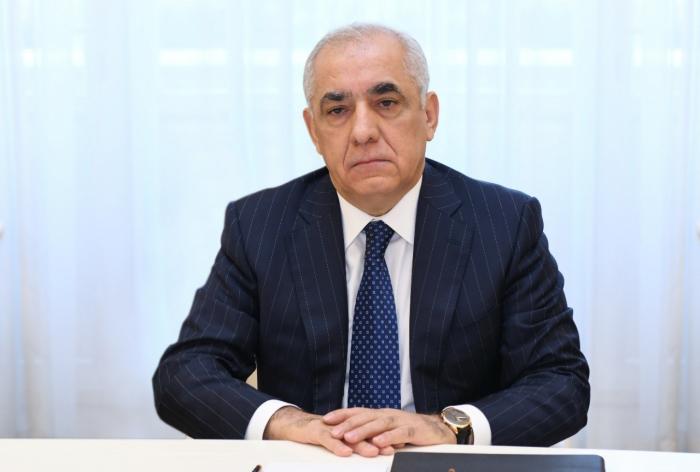 Azerbaijani PM presents government's annual report via videoconferencing